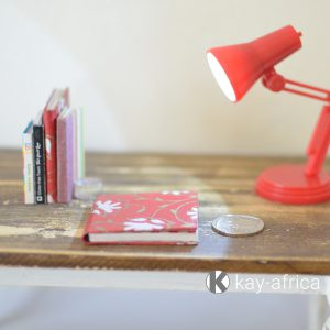 miniature red book