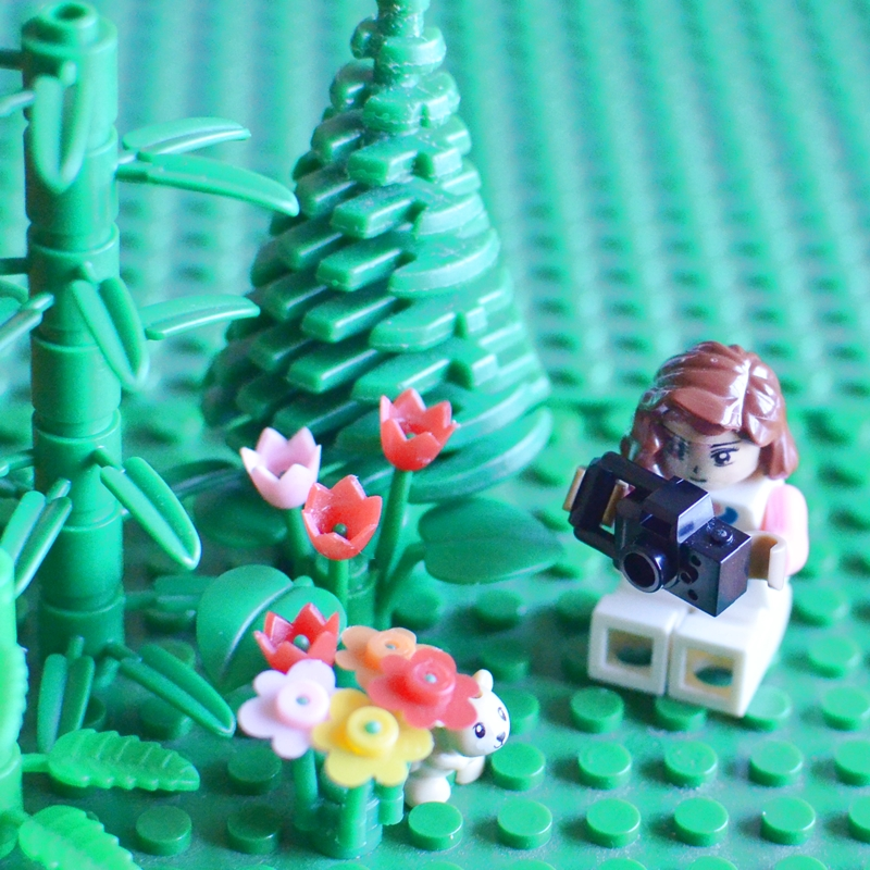 The Lego version of Karen Vollaire