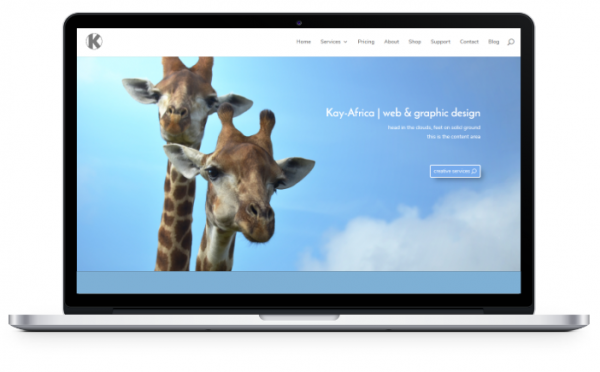 a web design by Karen Vollaire | Kay Africa